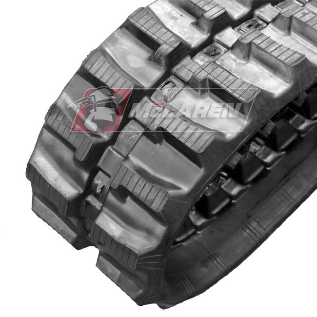 Maximizer rubber tracks for Volvo EB 12