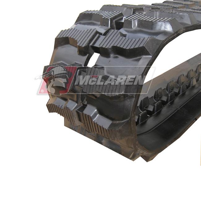 Maximizer rubber tracks for Hinowa PT 4000