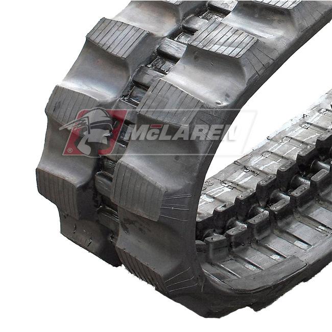 Maximizer rubber tracks for Peljob EB 252