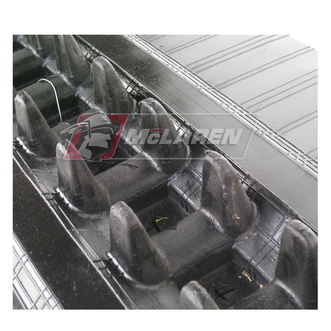 NextGen TDF Track Loader rubber tracks for Hitachi ZX 55 U