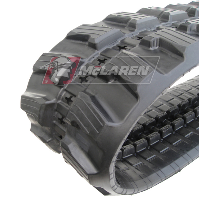 Next Generation rubber tracks for Hitachi ZX 55 U