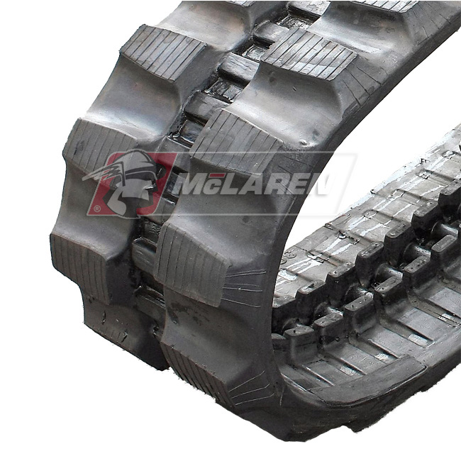 Maximizer rubber tracks for Kobelco Z 14