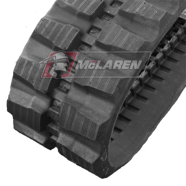 Maximizer rubber tracks for Fermec 135