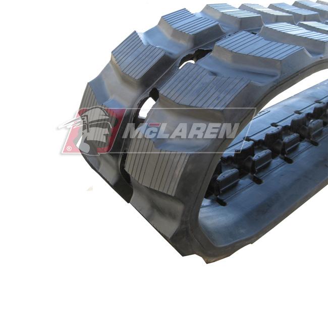 Maximizer rubber tracks for Komatsu PC 50-3