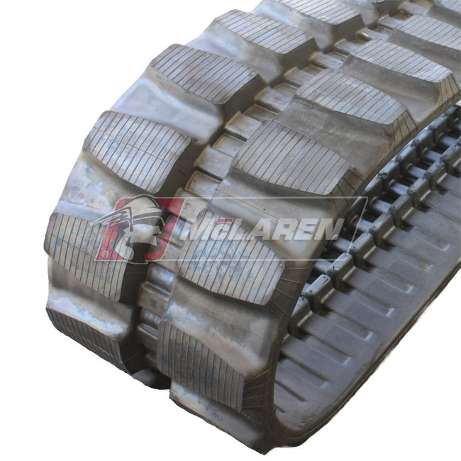 Maximizer rubber tracks for Kubota KH 65
