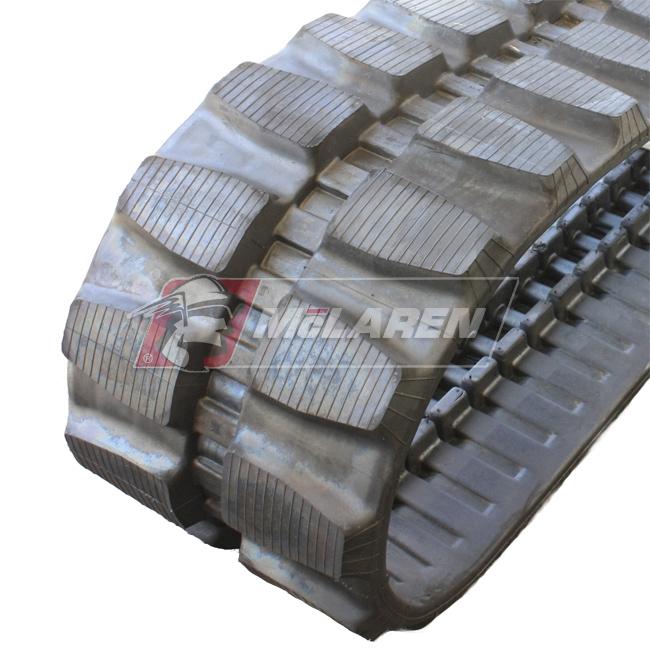 Maximizer rubber tracks for Airman AX 30 UR-2