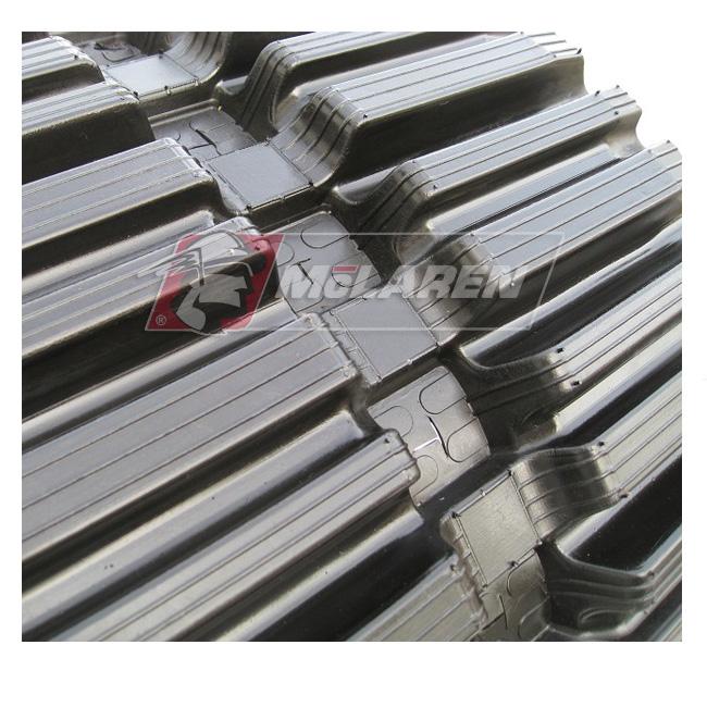 NextGen TDF Track Loader rubber tracks for Hanix N 230-2 R
