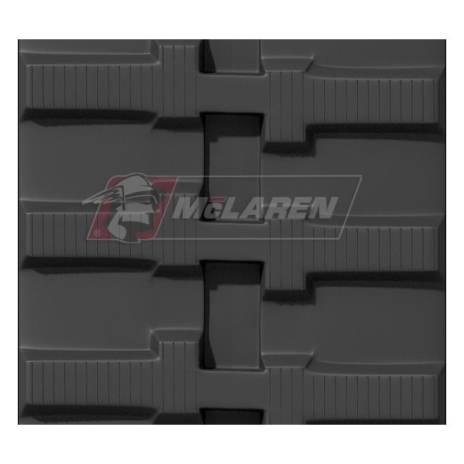 Maximizer rubber tracks for Yanmar B 50-1 CR