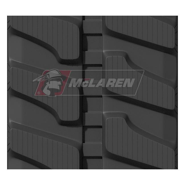 Maximizer rubber tracks for Komatsu PC 50 MR-2