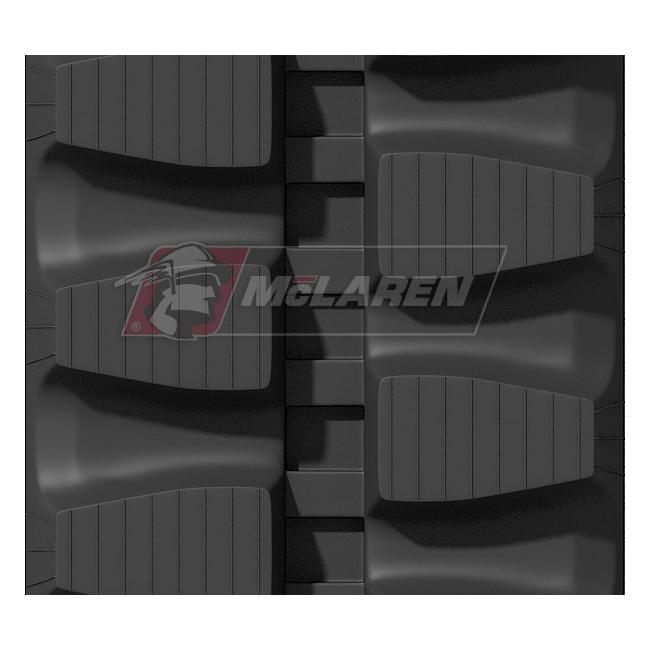 Maximizer rubber tracks for Terex TC 75