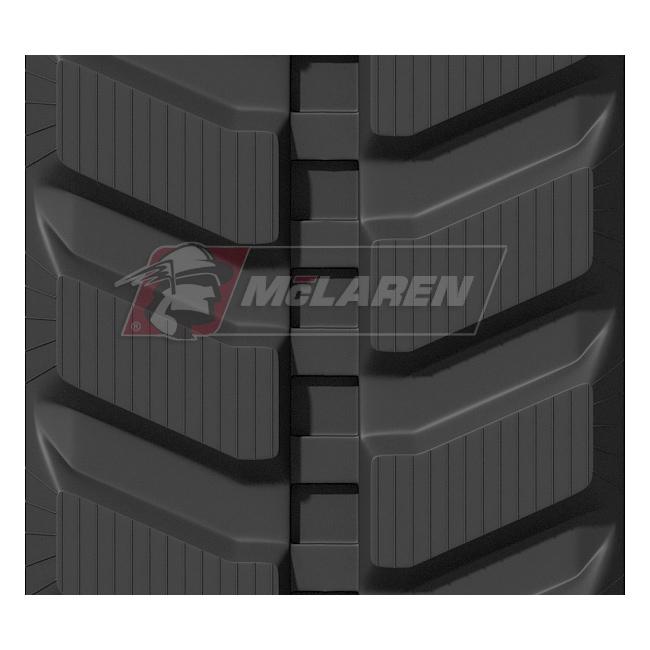 Maximizer rubber tracks for Kobelco SK 60-2