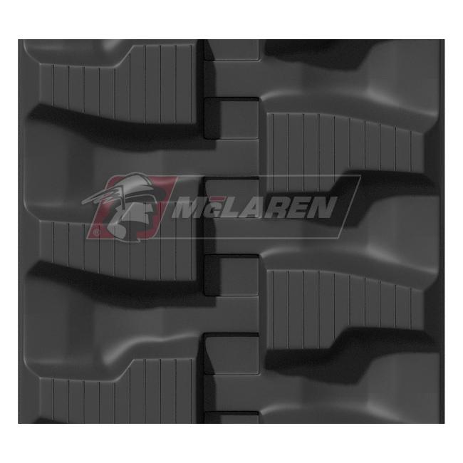 Maximizer rubber tracks for Bobcat 428