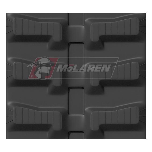 Maximizer rubber tracks for Eurocat 200 HVS