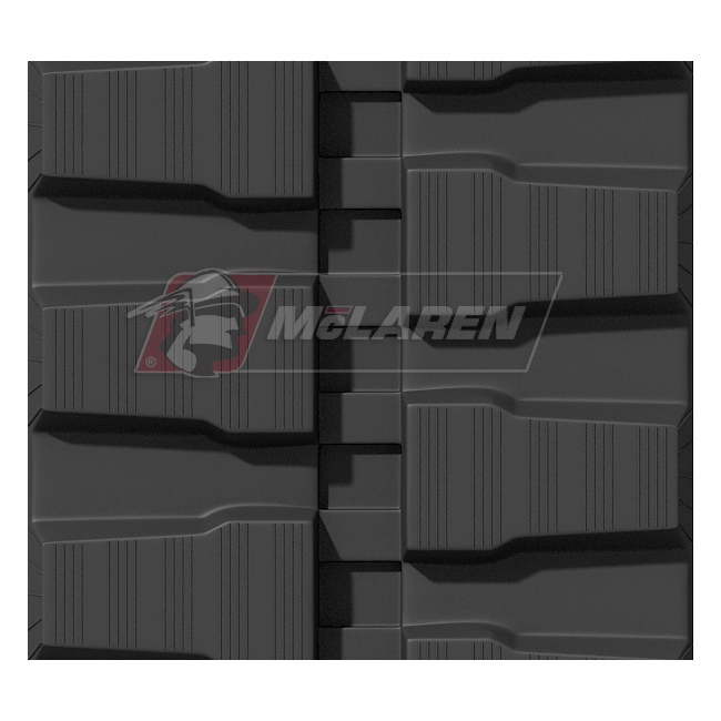 Maximizer rubber tracks for Kobelco SK 35 SR-2