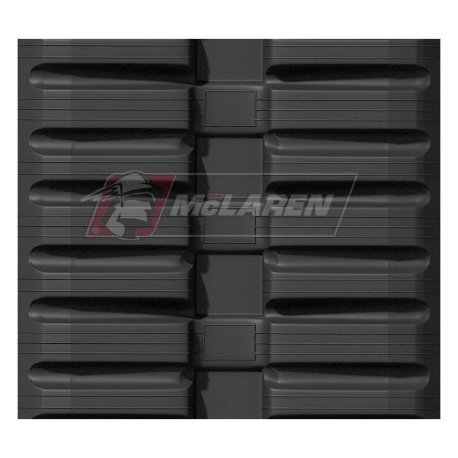 Maximizer rubber tracks for Holmac HZC 26-20