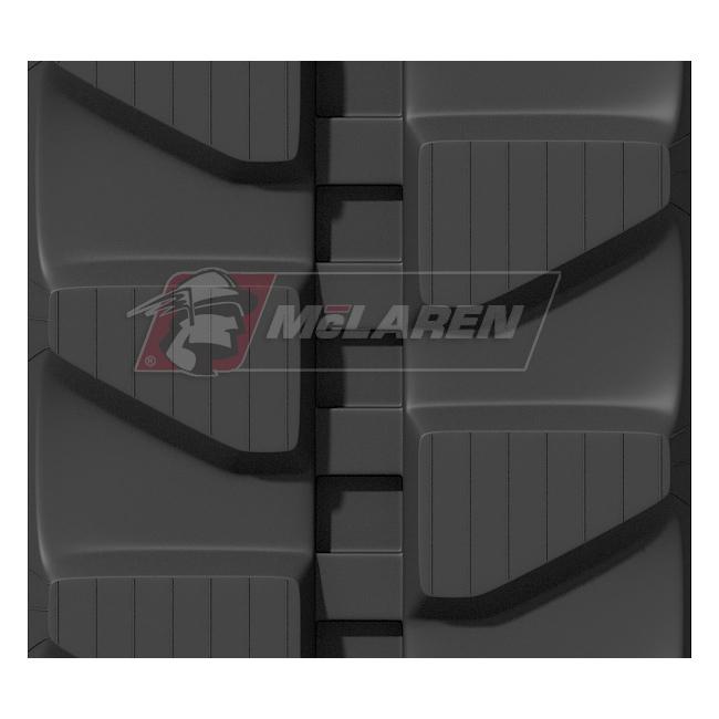 Maximizer rubber tracks for Hitachi EX 75-2