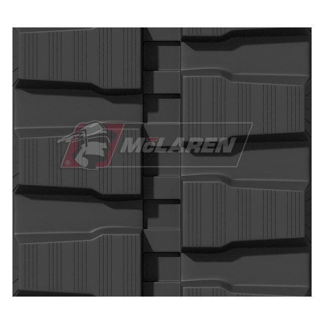 Maximizer rubber tracks for Bobcat X100