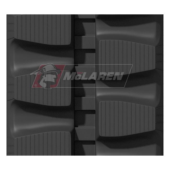 Maximizer rubber tracks for Komatsu PC 20 MR-1 AVANCE