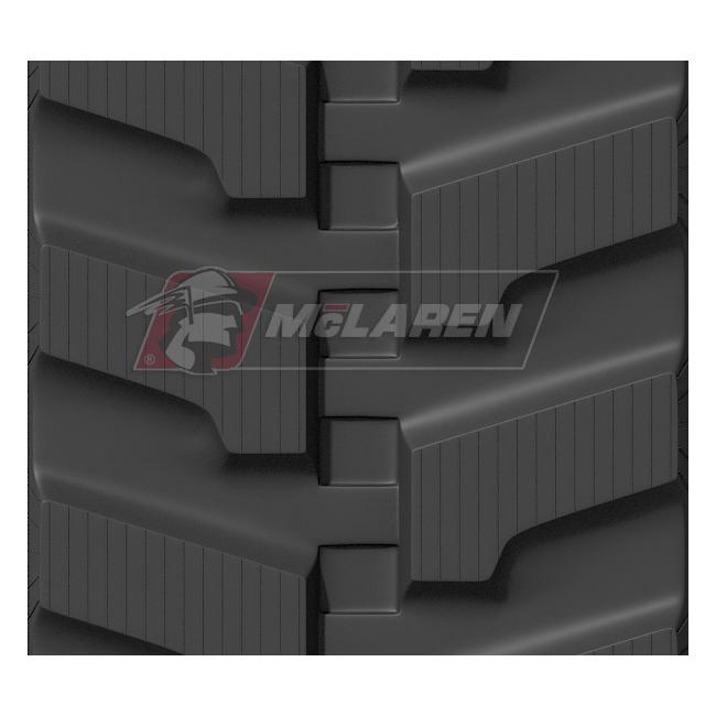 Maximizer rubber tracks for Kobelco SK 35 SR-2E